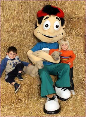 Ollie and friends at Royal Show